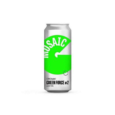 Cerveja Croma Green Force #2 Juicy IPA Lata - 473ml