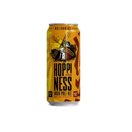Cerveja Molinarius Hoppiness #3.0 New England IPA Lata - 473ml