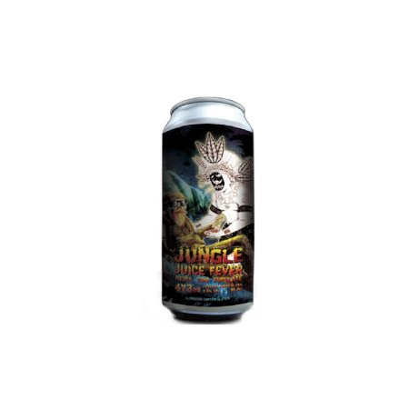 Cerveja Heróica & Doktor Brau Jungle Juice Fever New England IPA C/ Cupulate Lata - 473ml