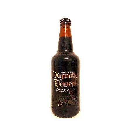 Cerveja 5 Elementos & Dogma Dogmatic Element Imperial Milk Stout - 500ml