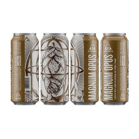 Cerveja Dogma Magnum Opus Imperial IPA Lata - 473ml