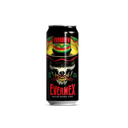 Cerveja EverBrew EverMex Mexican Imperial Stout Lata - 473ml