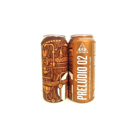 Cerveja Dogma Prelúdio 02 American IPA Lata - 473ml