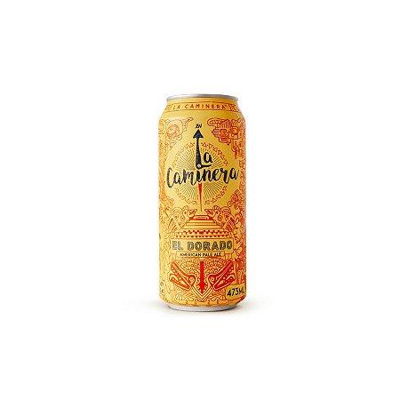 Cerveja La Caminera El Dorado American Pale Ale Lata - 473ml
