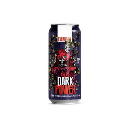 Cerveja EverBrew Dark Power Imperial India Black Ale Lata - 473ml