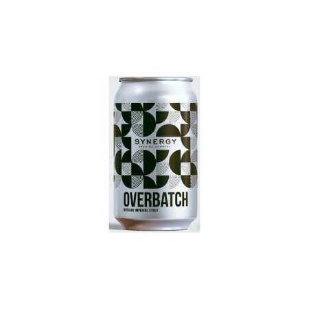 Cerveja Synergy Overbatch Russian Imperial Stout Lata - 350ml