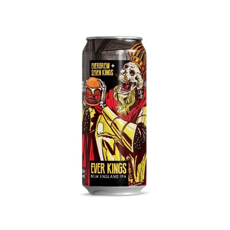 Cerveja EverBrew Ever Kings New England IPA Lata - 473ml