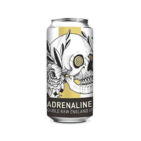 Cerveja Doktor Brau Adrenaline Double New England IPA Lata - 473ml