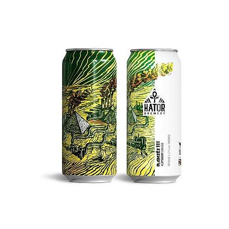 Cerveja Hator Brewery Ramsés III New England Sour Mango Lata - 473ml