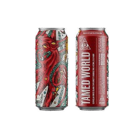 Cerveja Dogma & Oceânica Tamed World Brett Double IPA Lata - 473ml