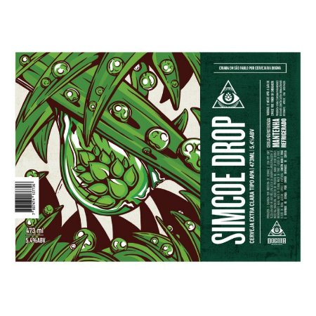 Cerveja Dogma Simcoe Drop American Pale Ale Lata - 473ml