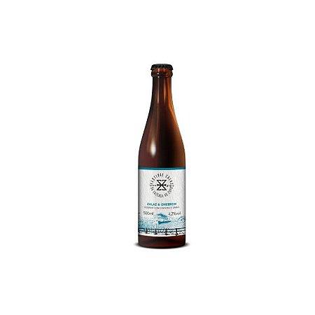 Cerveja Zalaz & Onebrew Sour Wit C/ Limão Cravo e Coentro - 500ml