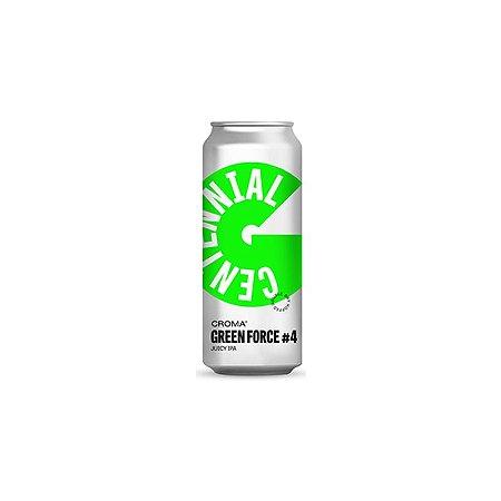 Cerveja Croma Green Force #4 Juicy IPA Lata - 473ml