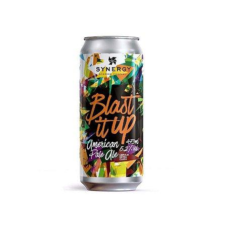 Cerveja Synergy Blast It Up New England Pale Ale Lata - 473ml