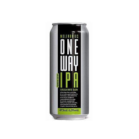 Cerveja Molinarius One Way IPA Batch 10/18  American IPA Lata - 473ml