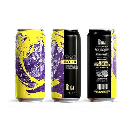Cerveja Bold Brewing Juicy Joy New England Oatmeal IPA Lata - 473ml