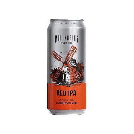 Cerveja Molinarius Red IPA Lata - 473ml
