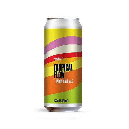 Cerveja Dádiva Tropical Flow New England IPA Lata - 473ml