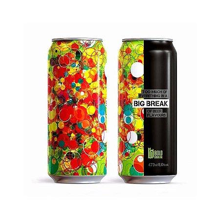 Cerveja Bold Brewing Big Break Double New England IPA Lata - 473ml