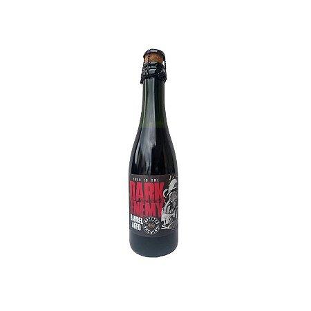 Cerveja Infected Brewing Dark Enemy Bourbon Barrel Aged Carvalho Francês C/ Brettanomyces - 375ml