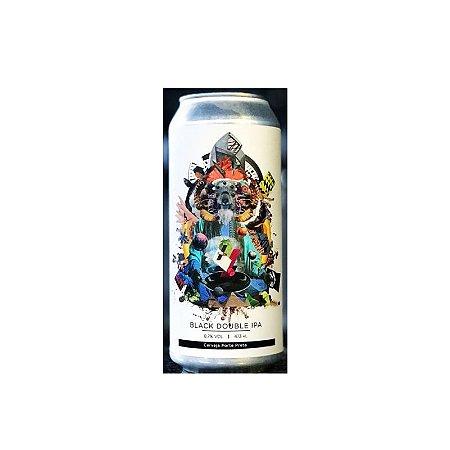 Cerveja Koala San Brew & Octopus In The Midst Of Chaos Double Black IPA Lata - 473ml