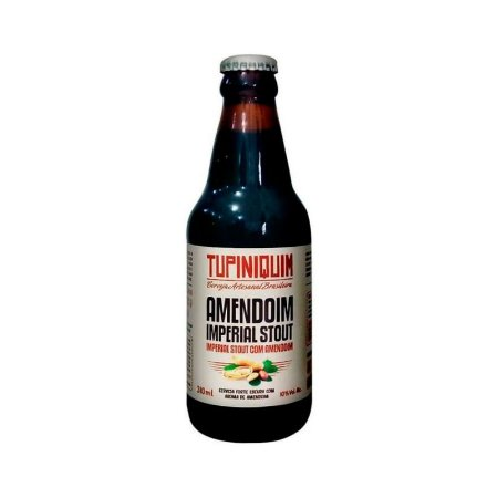 Cerveja Tupiniquim Amendoim Imperial Stout - 310ml