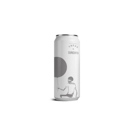 Cerveja Treze + Suricato Ales Bubble Brut 2.0 Brut IPA Lata - 473ml