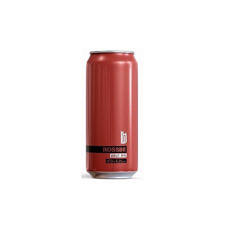Cerveja Bold Brewing Rossini Brut IPA C/ Morangos, Amoras e Framboesas Lata - 473ml