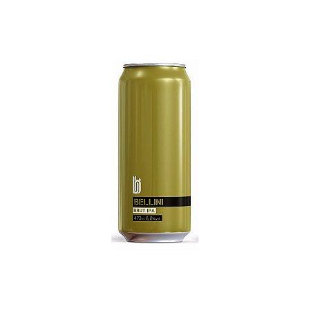 Cerveja Bold Brewing Bellini Brut IPA C/ Pêssegos Lata - 473ml