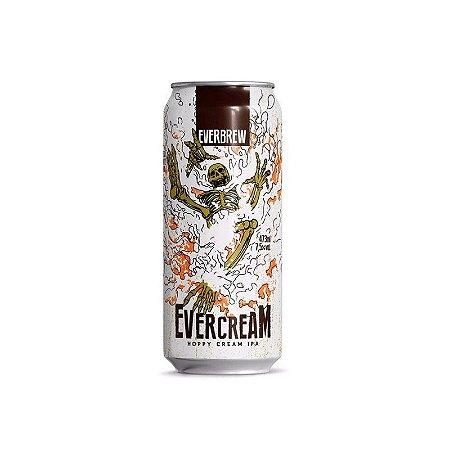 Cerveja EverBrew EverCream Hoppy Cream IPA Lata - 473ml