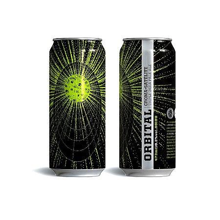 Cerveja Croma + Satélite Orbital Triple IPA Lata - 473ml