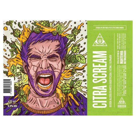 Cerveja Dogma Citra Scream Milkshake IPA Lata - 473ml