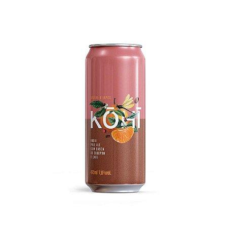 Cerveja Dádiva + Japas Kohi New England Double IPA Lata - 473ml