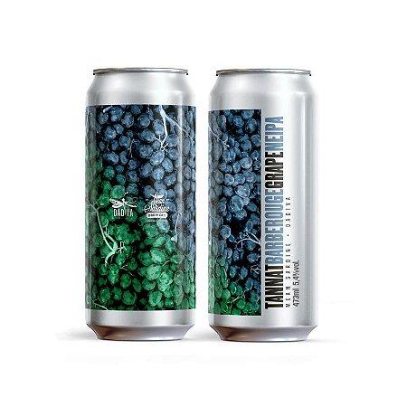 Cerveja Dádiva + Mean Sardine Tannat Barbe Rouge Grape New England IPA Lata - 473ml