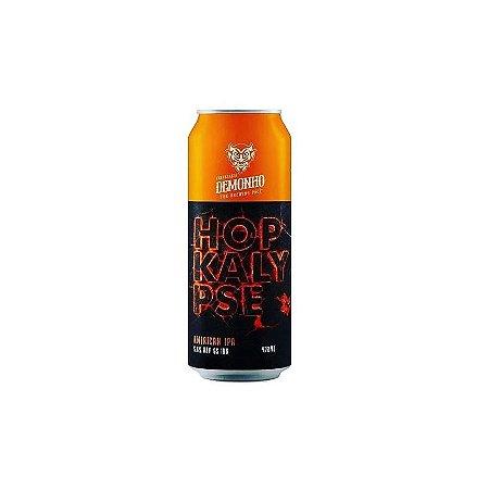 Cerveja Demonho Hopkalypse West Coast IPA Lata - 473ml