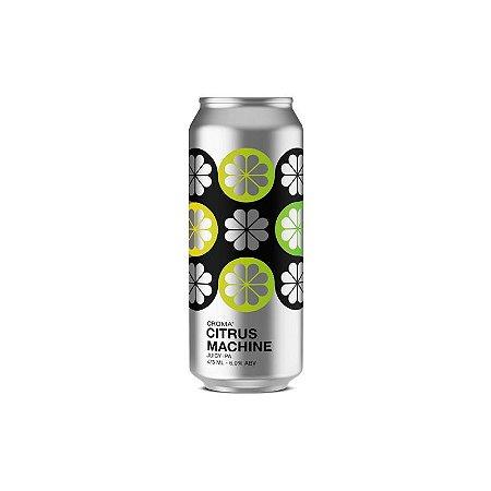 Cerveja Croma Citrus Machine Juicy IPA Lata - 473ml