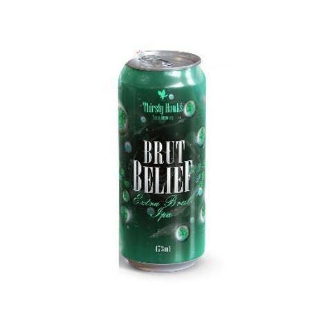 Cerveja Thirsty Hawks Brut Belief Brut IPA Lata - 473ml
