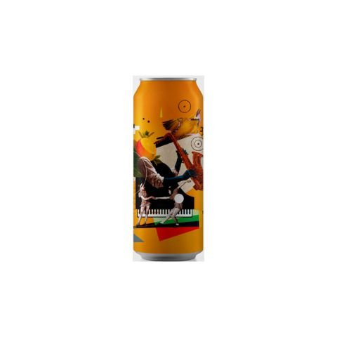Cerveja Octopus Mango Littlefield Juicy IPA C/ Manga Lata - 473ml