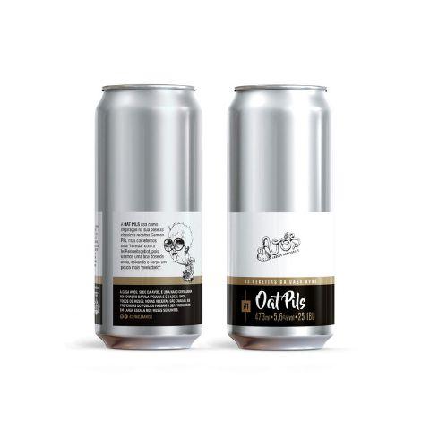 Cerveja Avós As Receitas da Casa Avós #1 Oat Pils Lata - 473ml