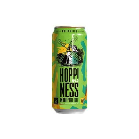 Cerveja Molinarius Hoppiness #4.0 India Pale Ale Lata - 473ml