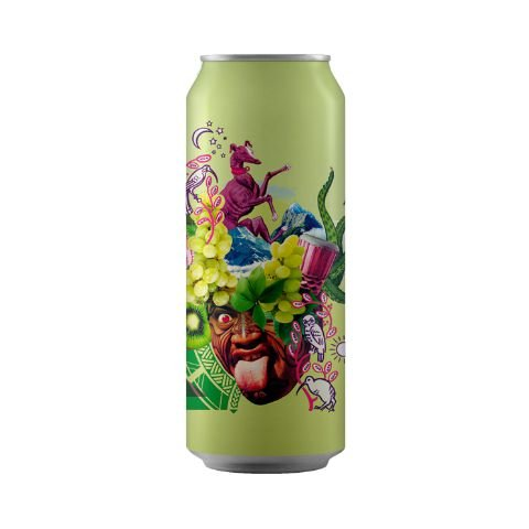Cerveja Octopus Underdog Double New England IPA Lata - 473ml
