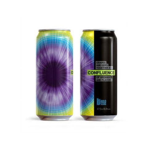 Cerveja Bold Brewing Confluence Double IPA C/ Uvas Lata - 473ml