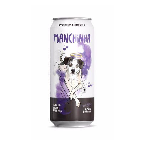 Cerveja EverBrew + Infected Brewing Manchinha English IPA Lata - 473ml