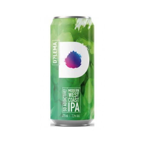 Cerveja Dilema So Addictive Modern West Coast IPA Lata - 473ml