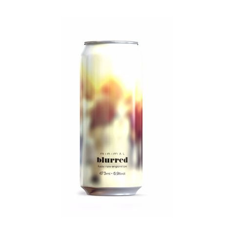Cerveja Minimal Blurred New England IPA Lata - 473ml