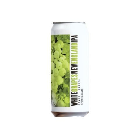 Cerveja Dádiva + Domus White Grapes New England IPA Lata - 473ml