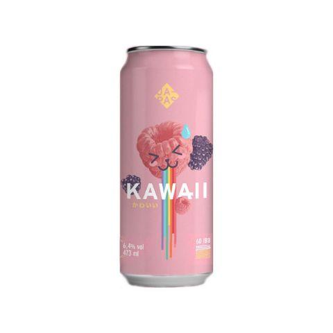 Cerveja Japas Kawaii New England IPA C/ Amora e Framboesa Lata - 473ml