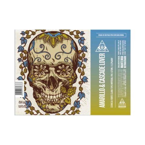 Cerveja Dogma Amarillo & Cascade Lover Imperial IPA Lata - 473ml