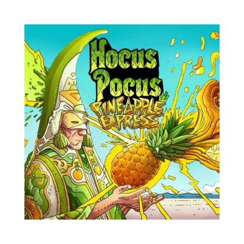 Cerveja Hocus Pocus Pineapple Express American IPA C/ Abacaxi - 500ml