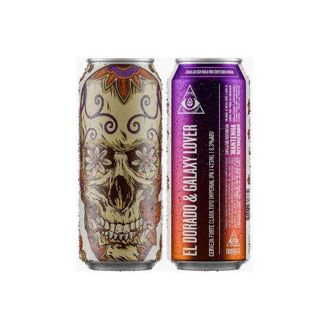 Cerveja Dogma El Dorado & Galaxy Lover Imperial IPA Lata - 473ml